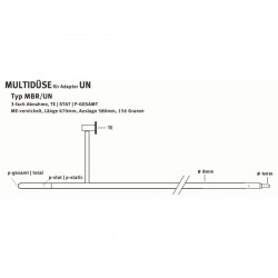 Antenne 3 voies MBR-UN