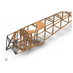 Lot Matière fuselage Sopwith Pup