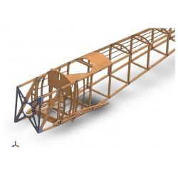 Lot Matière fuselage Sopwith Pup